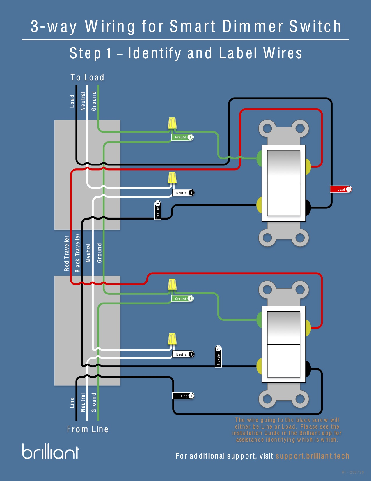 Installing a Multi way Brilliant Smart Dimmer Switch Setup ...